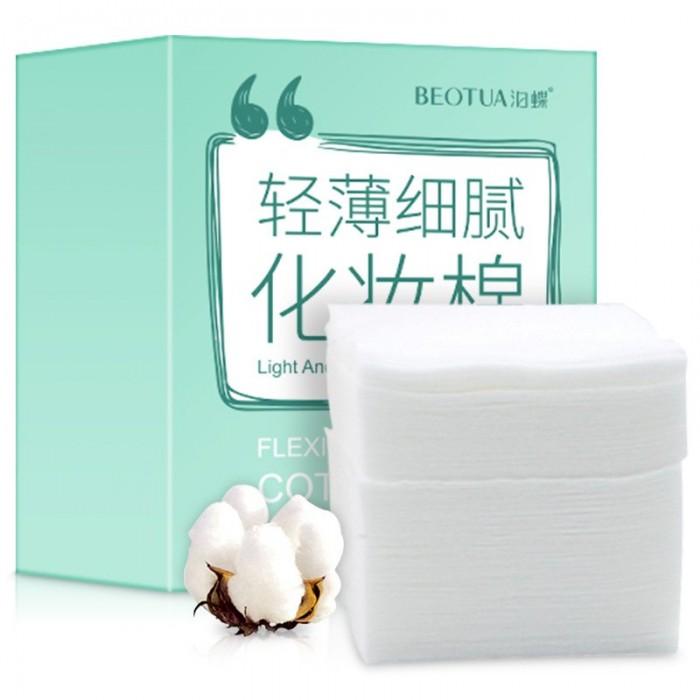 Beotua салфетки сухие хлопковые для снятия макияжа 100 шт