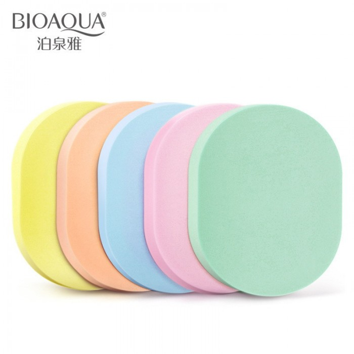 Bioaqua спонж для умывания 5 шт