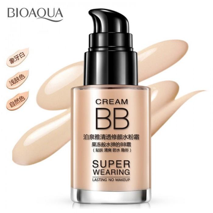 Bioaqua крем BB Super Wearing (слоновая кость)
