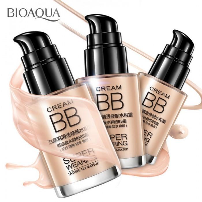 Bioaqua крем BB Super Wearing (светлый)