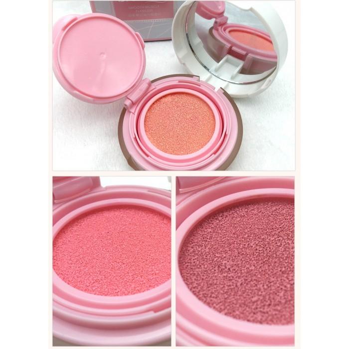 Bioaqua румяна кушон (01 светло-розовый)