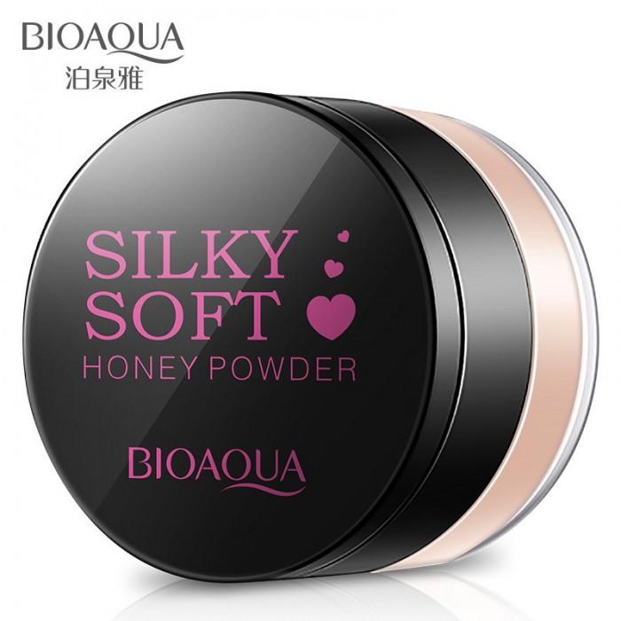 Bioaqua пудра рассыпчатая Silky Soft Honey (01 натуральный)