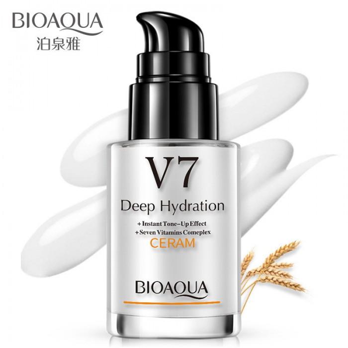 Bioaqua база под макияж с дозатором V7