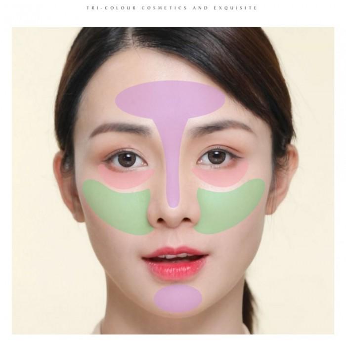 Laikou база под макияж зеленая