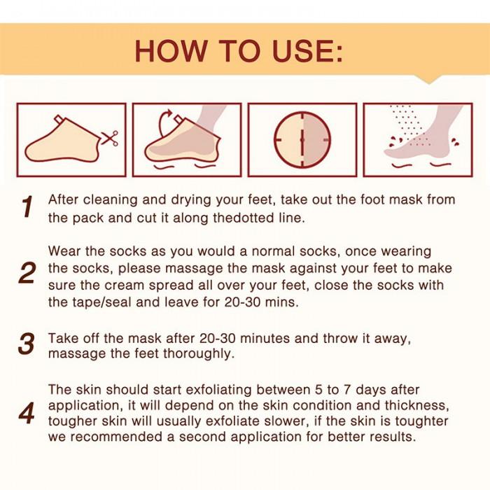 Aliver носочки для пилинга c экстрактом ромашки