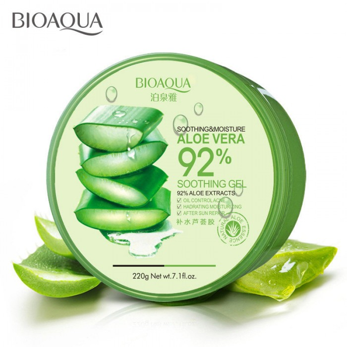 Bioaqua гель с экстрактом алоэ 220 г