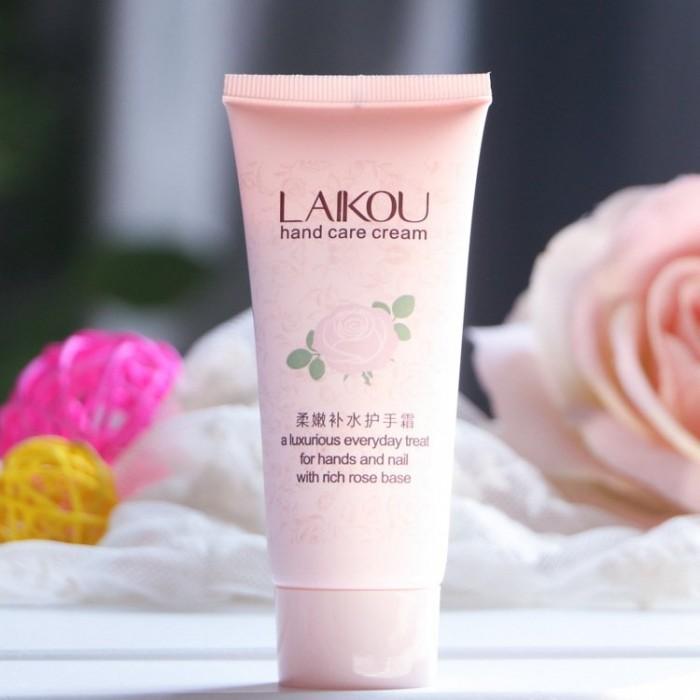 Laikou крем для рук с экстрактом розы