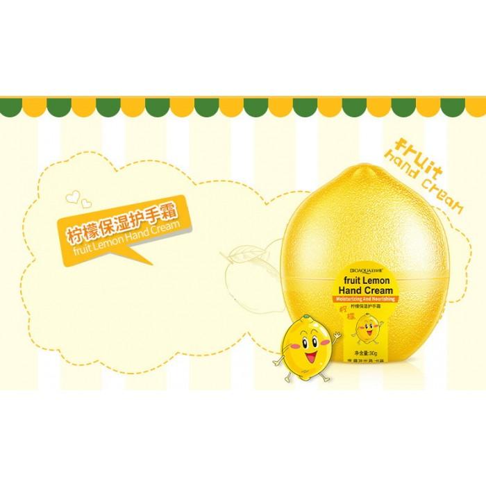 Bioaqua крем для рук лимон