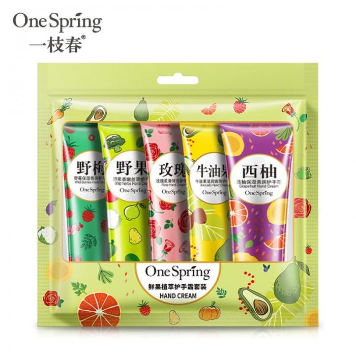 One Spring крем для рук в наборе 5 шт