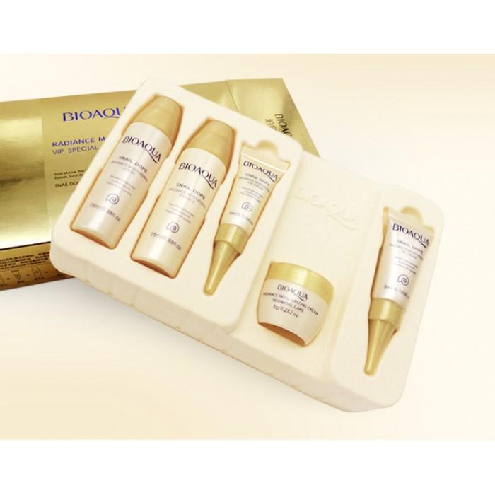Bioaqua набор по уходу за кожей с экстрактом улитки