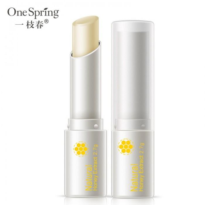 One Spring бальзам для губ с медом