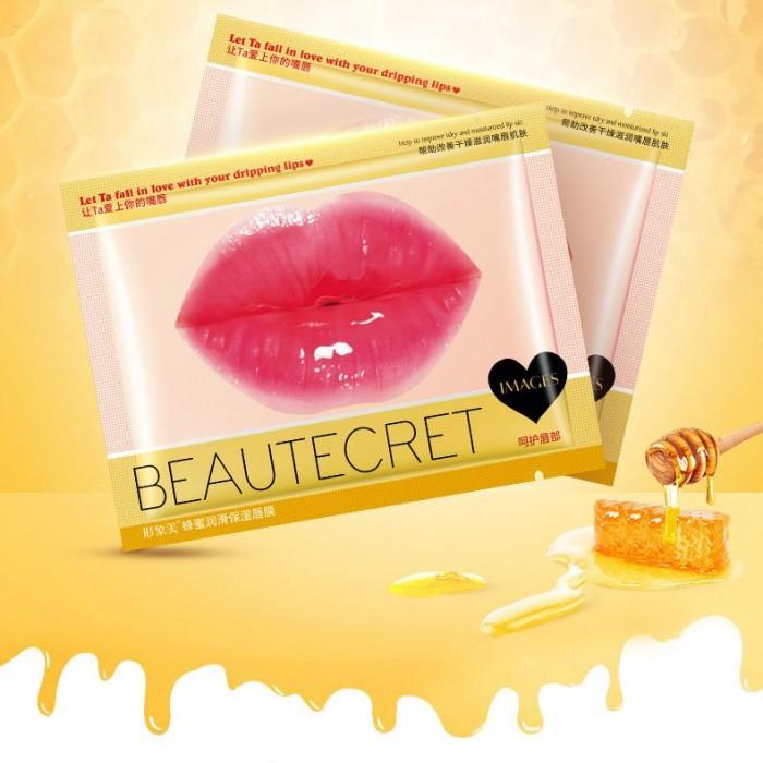 Images маска для губ гидрогелевая с экстрактом меда