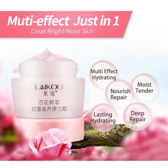 Laikou крем для лица с цветочными экстрактами