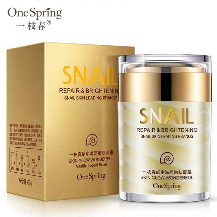 One Spring крем для лица с экстрактом улитки