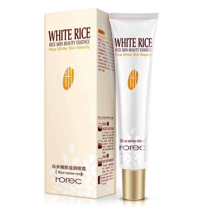 Rorec крем для век с белым рисом