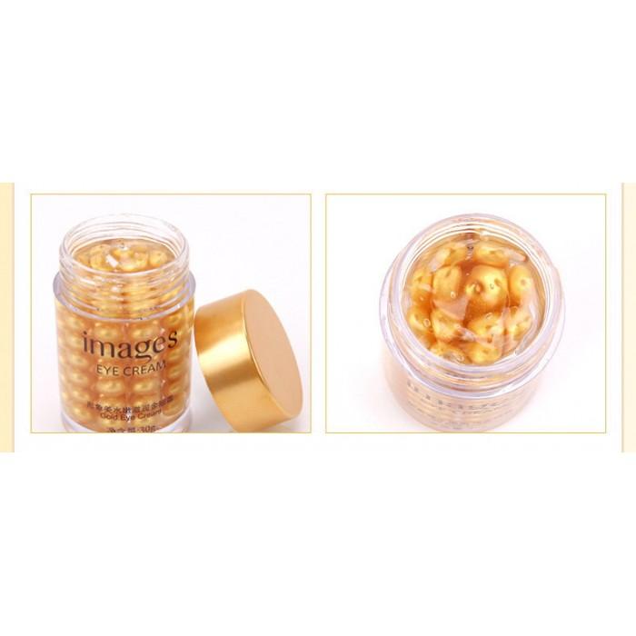 Images крем для век с частичками золота