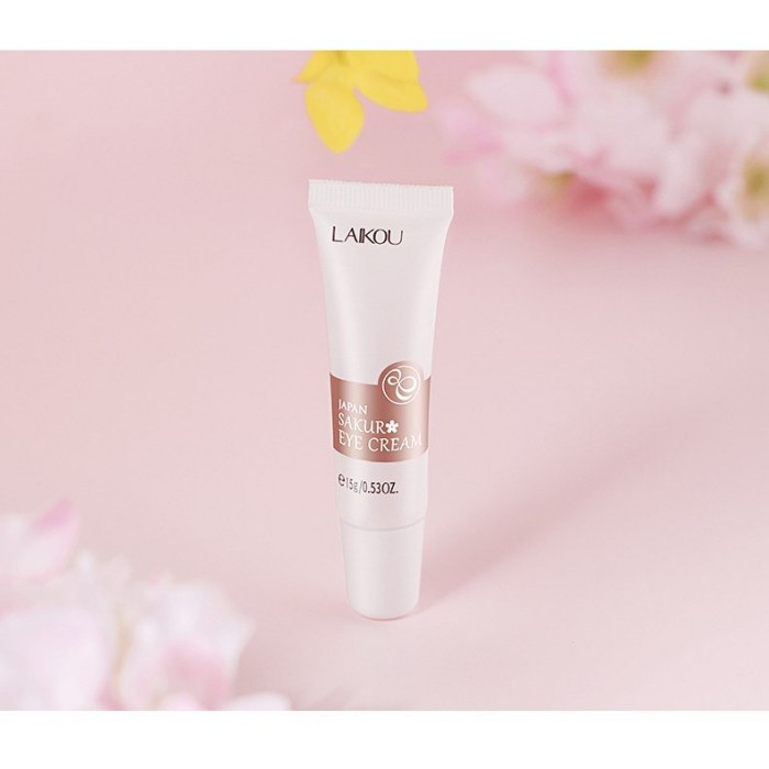 Laikou крем для век с экстрактом цветков сакуры