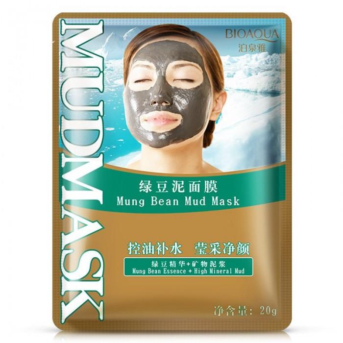 Bioaqua маска грязевая с зеленым горошком