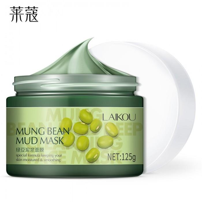 Laikou маска грязевая с экстрактом бобов мунг