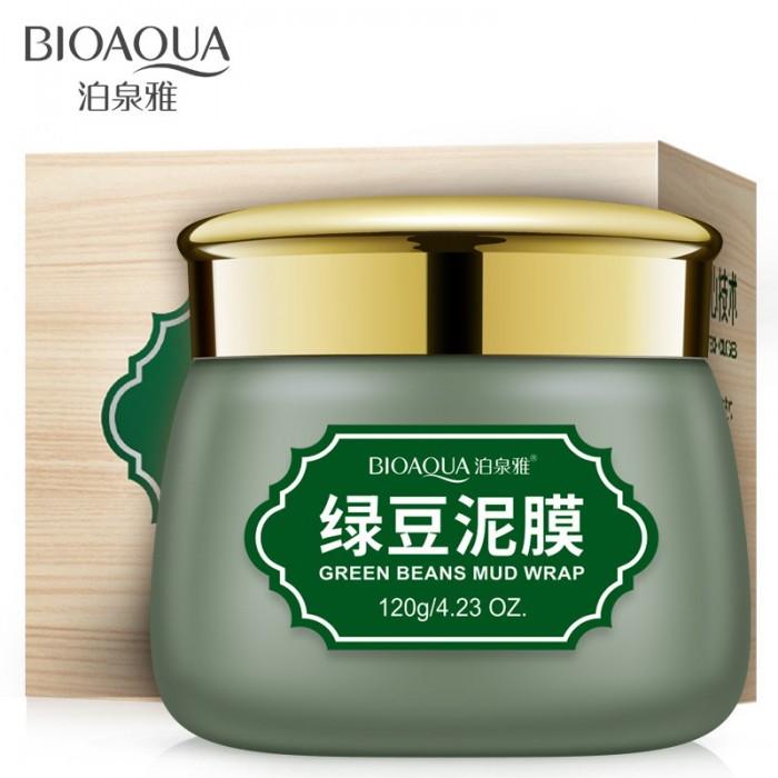 Bioaqua маска грязевая очищающая с бобами мунг