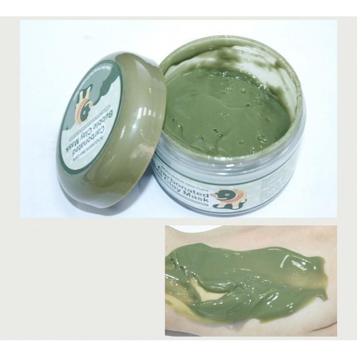 Bioaqua маска пузырьковая с глиной