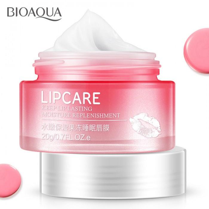 Bioaqua маска ночная для губ