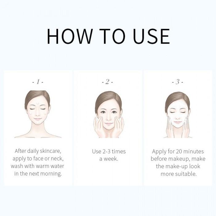 Laikou маска ночная с экстрактом водорослей 20 шт