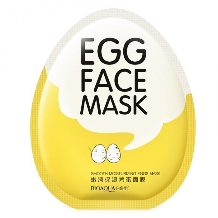 Bioaqua маска для лица яичная