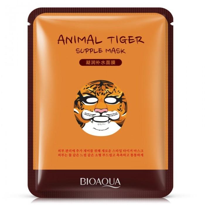 Bioaqua маска для лица Animal Tiger с экстрактом гамамелиса