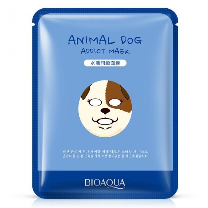 Bioaqua маска для лица Animal Dog с экстрактом алоэ