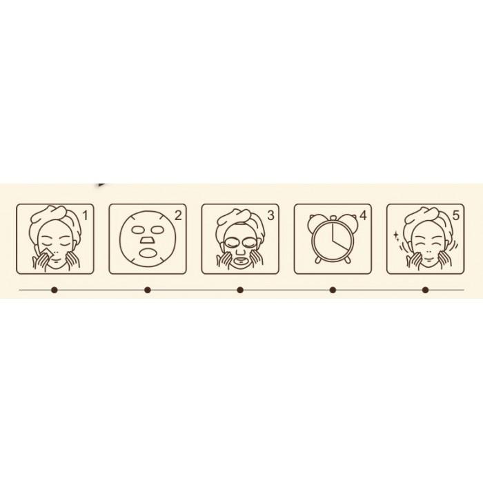 Images маска для лица с муцином улитки