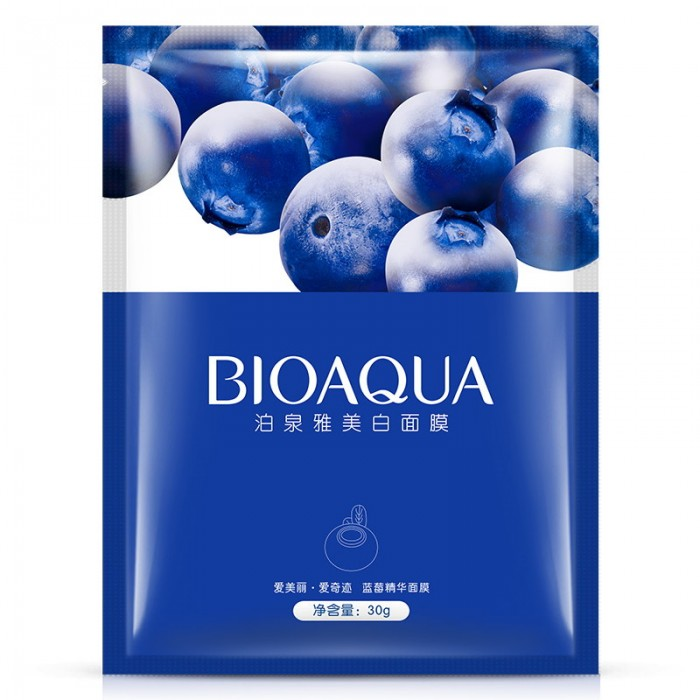 Bioaqua маска для лица с экстрактом черники