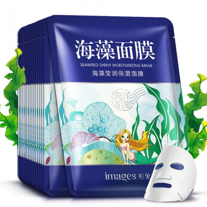 Images маска для лица увлажняющая с экстрактом водорослей