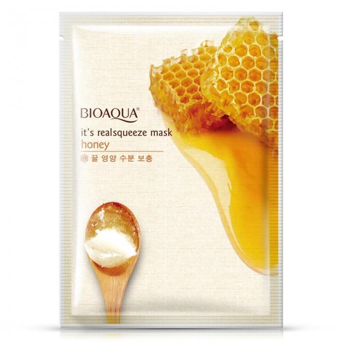 Bioaqua маска для лица с медом
