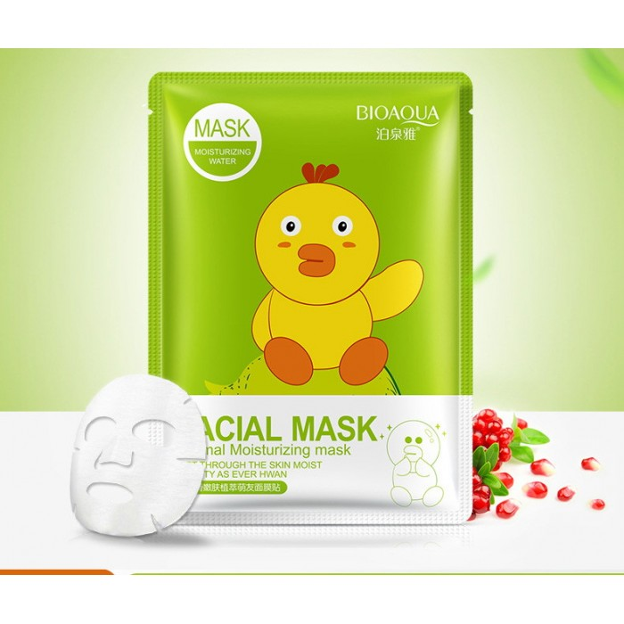 Bioaqua маска для лица с экстрактом граната