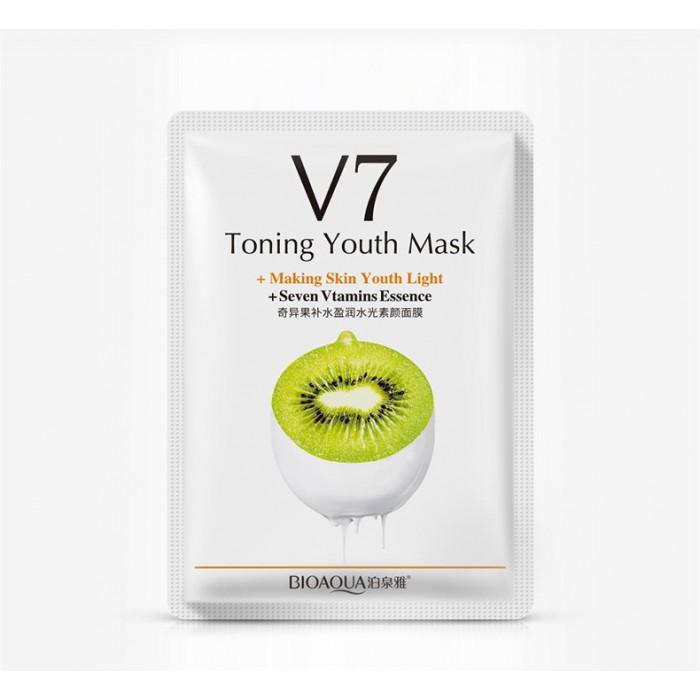 Bioaqua маска для лица киви с витаминами V7