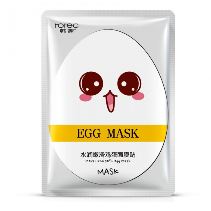 Rorec маска для лица яичная Egg Mask