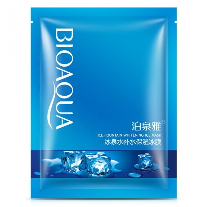 Bioaqua маска для лица ледниковая свежесть