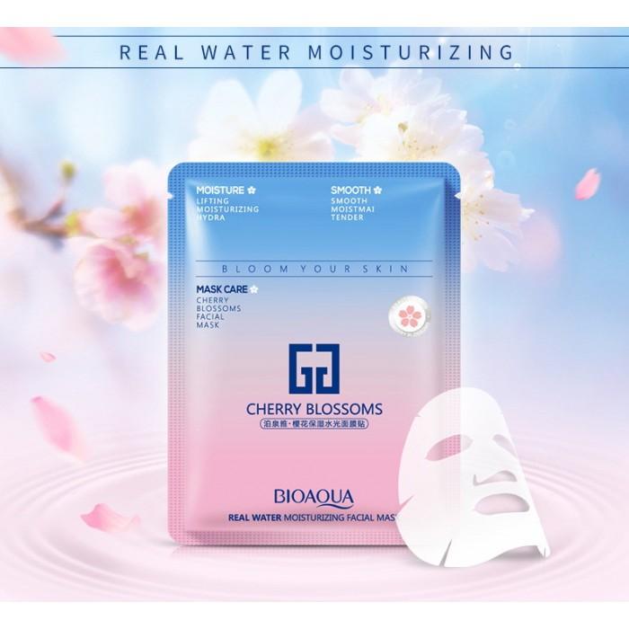 Bioaqua маска для лица с экстрактом цветов сакуры