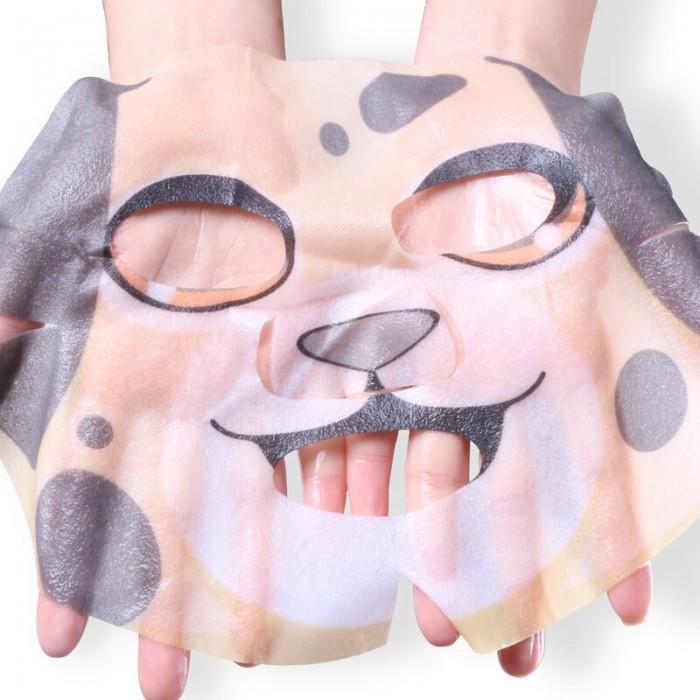 Hankey маска для лица Animal Dog с экстрактом водорослей и алоэ