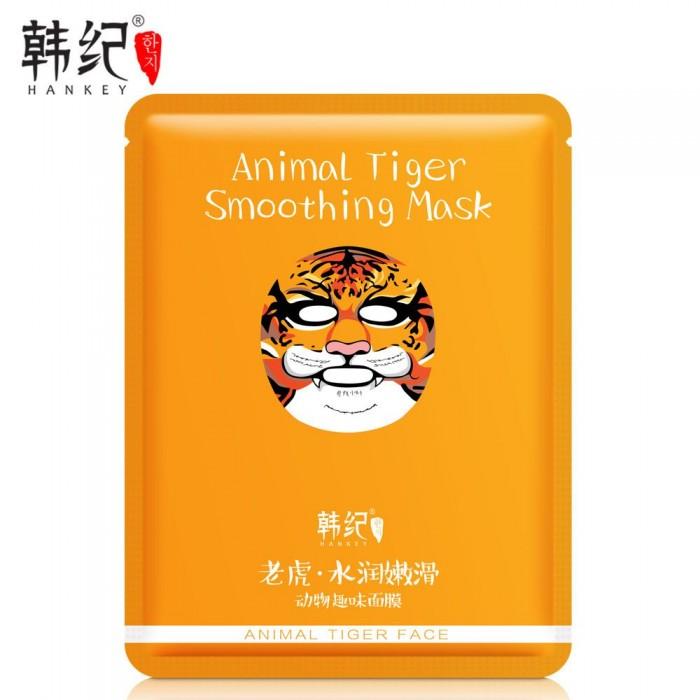 Hankey маска для лица Animal Tiger с экстрактом водорослей и лаванды