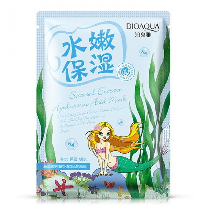 Bioaqua маска для лица омолаживающая с морскими водорослями