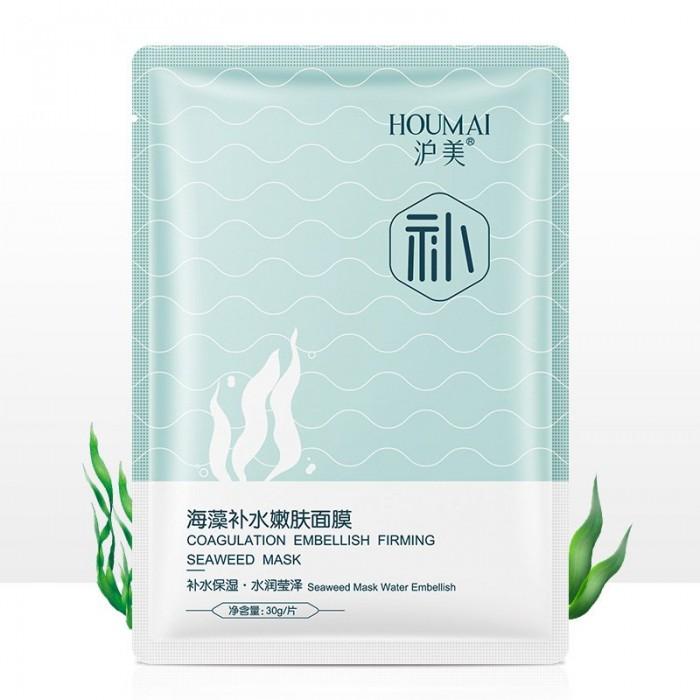 Houmai маска для лица с экстрактами водорослей хидзики и ламинарии