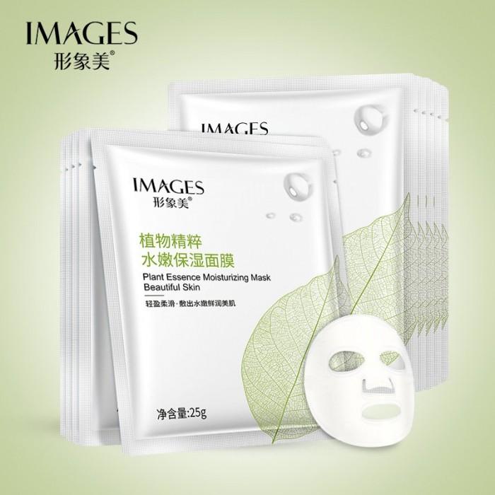 Images маска для лица с экстрактом камелии японской и алоэ