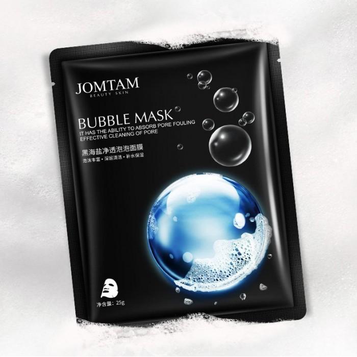 Jomtam маска пузырьковая с морской солью