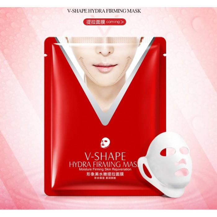 Images маска для подтяжки овала лица с экстрактом риса V-Shape Mask