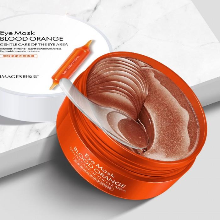 Images патчи для век гидрогелевые с экстрактом Юдзу Blood Orange 60 шт