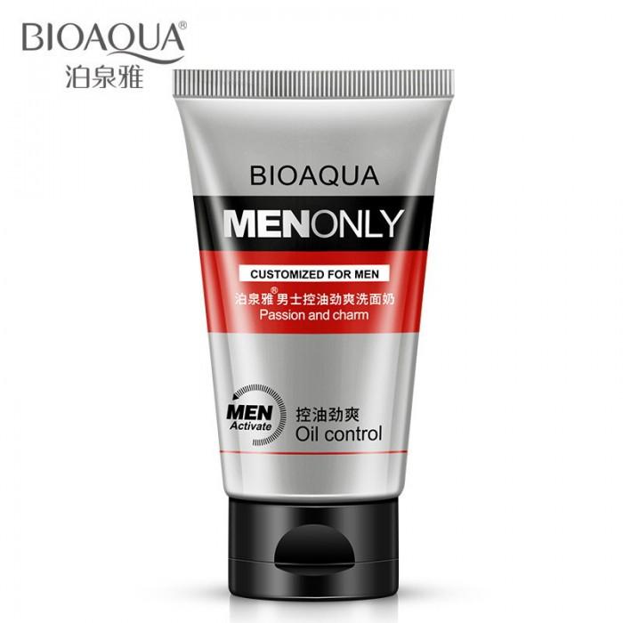 Bioaqua пенка для умывания мужская MEN ONLY