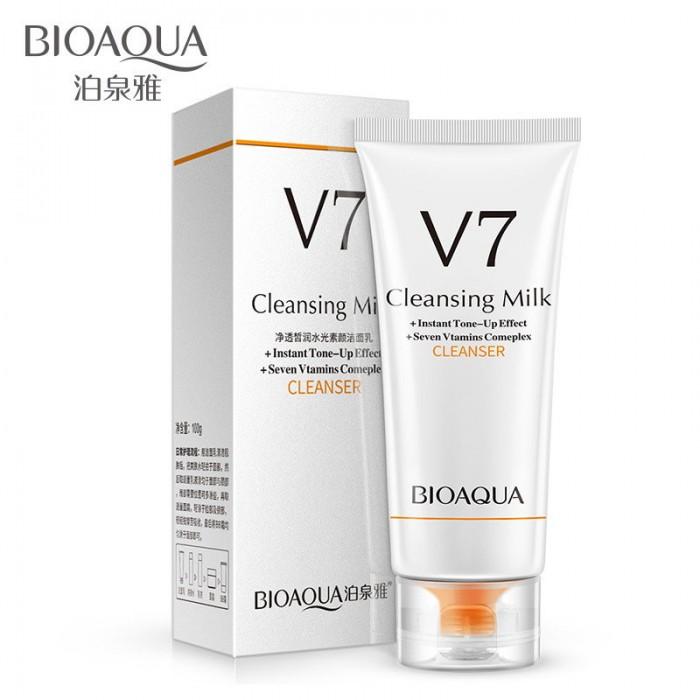 Bioaqua пенка для умывания семь витаминов V7