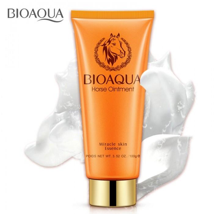 Bioaqua пенка для умывания с лошадиным жиром